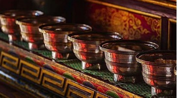 As 8 Taças de Oferendas