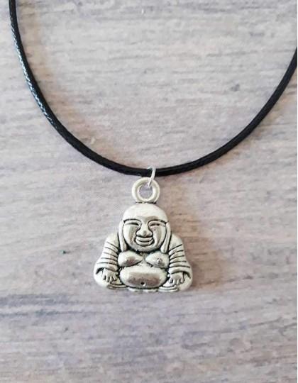 Colar com Buda Hotei