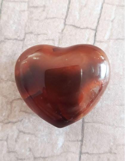 Cornalina (coração) - 3cm