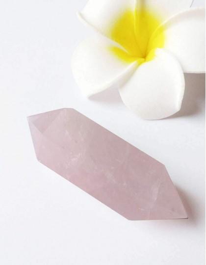 Quartzo Rosa (Ponta Biterminada) - 6cm