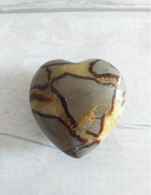 Dragão Septariano (coração) - 5cm
