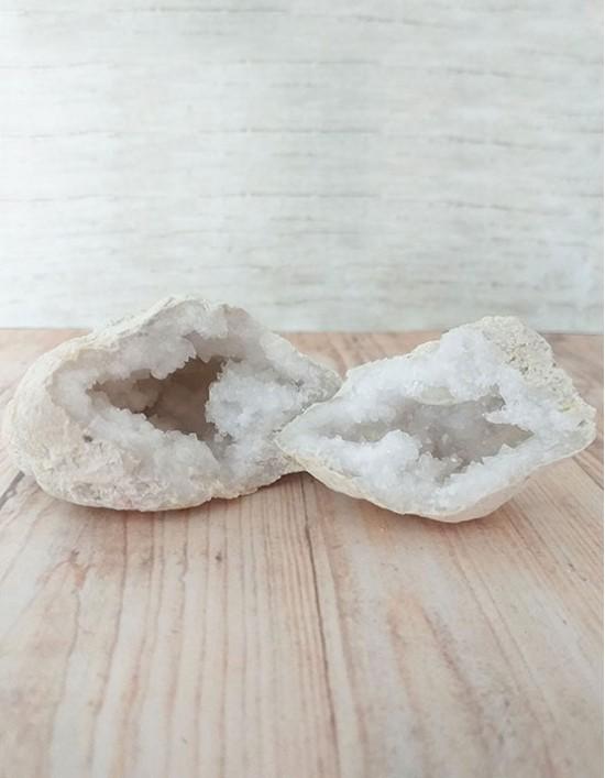 Quartzo Cristal (Geodo) - 7cm