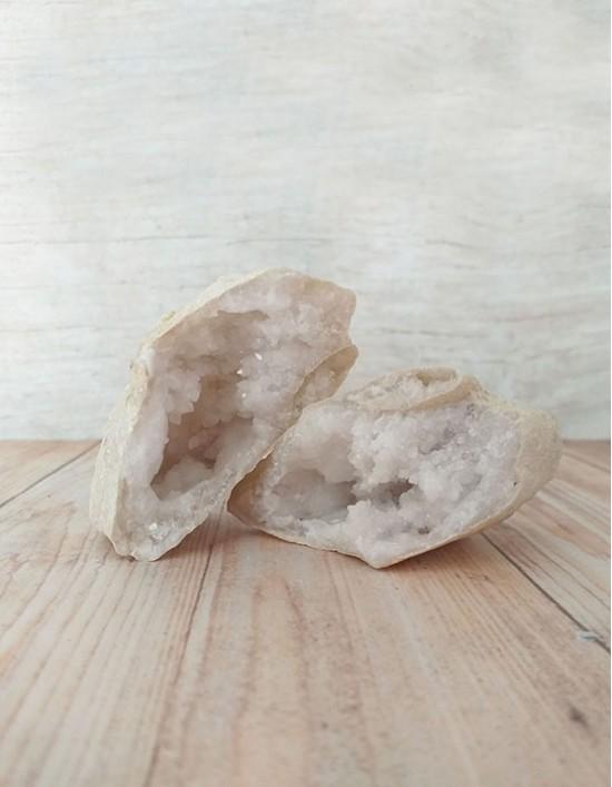 Quartzo Cristal (Geodo) - 8cm