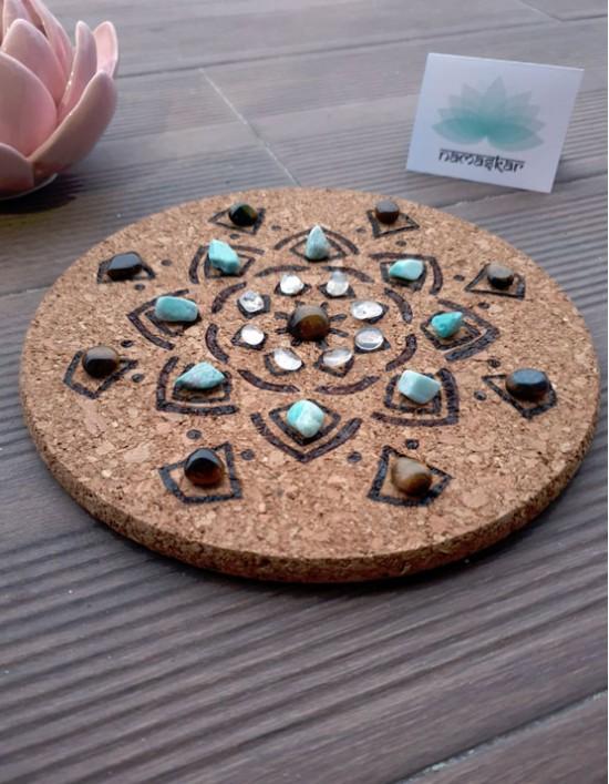 Grelha de Cristais - Protecção do Campo de Energia (Mandala)