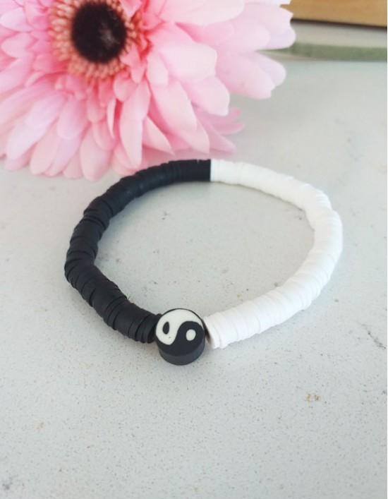 Pulseira Boho Yin Yang