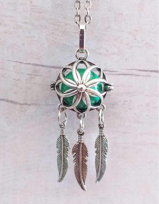 Chamador de Anjos (esfera verde) - Caça-Sonhos
