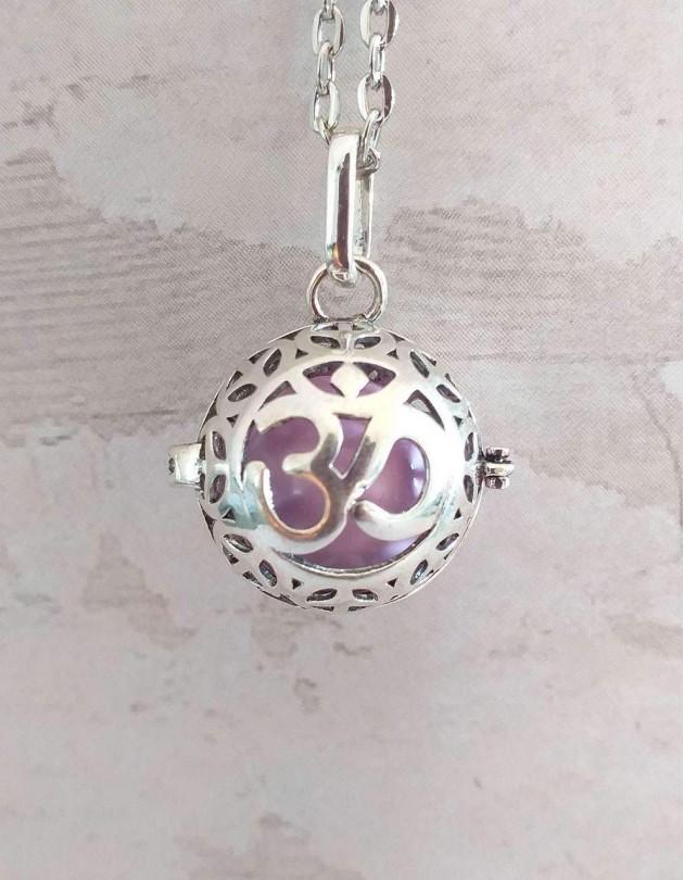 Chamador de Anjos (esfera violeta) - Om