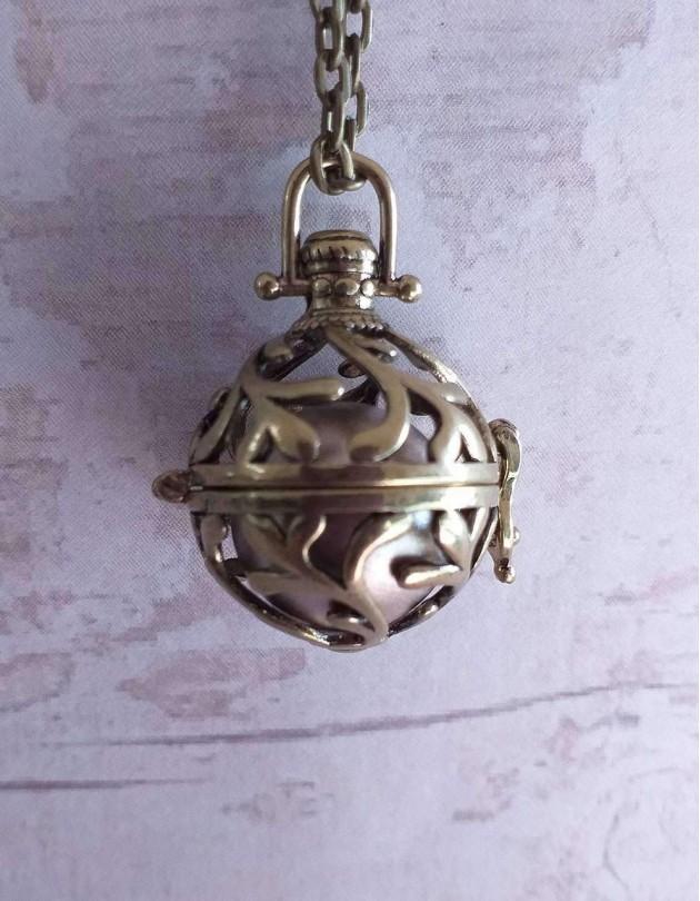 Chamador de Anjos (esfera dourada)