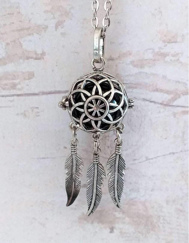 Chamador de Anjos (esfera preta) - Caça-Sonhos