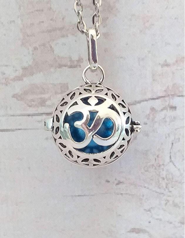Chamador de Anjos (esfera azul) - Om