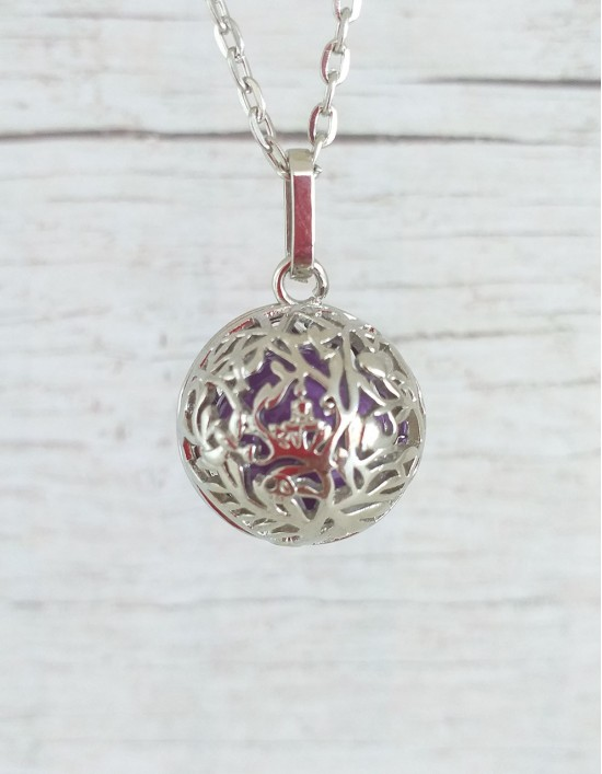 Chamador de Anjos (esfera violeta) - Buda Gautama
