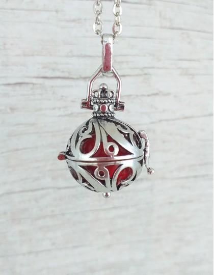 Chamador de Anjos - esfera vermelha (ref.: CA069)