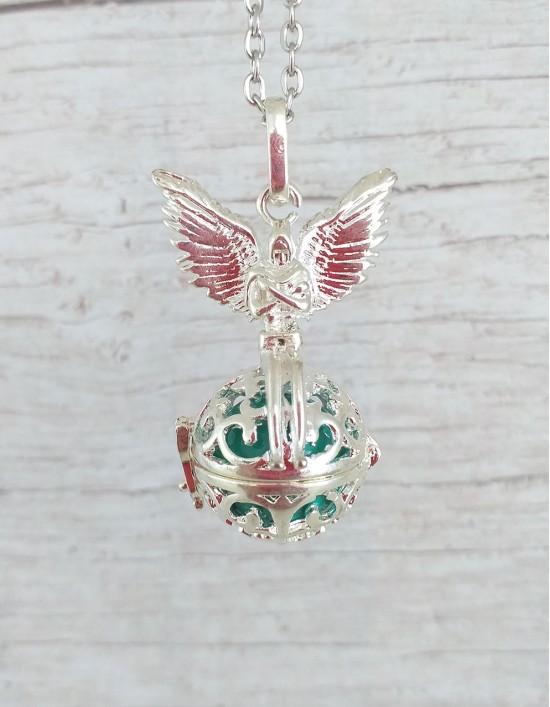 Chamador de Anjos (esfera turquesa) - Arcanjo Miguel