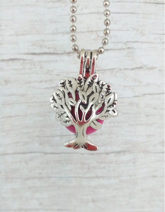 Chamador de Anjos (esfera rosa) - Árvore da Vida