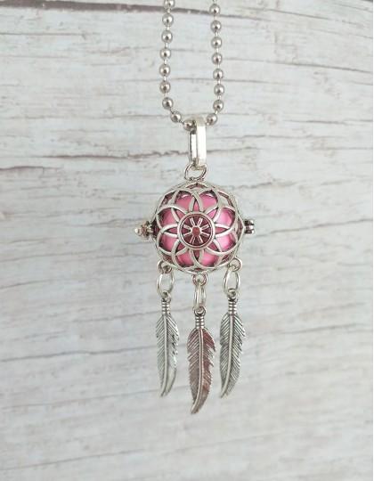 Chamador de Anjos (esfera rosa) - Caça-Sonhos