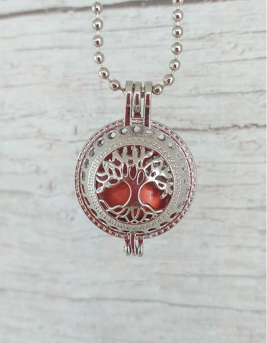Chamador de Anjos (esfera laranja) - Árvore da Vida