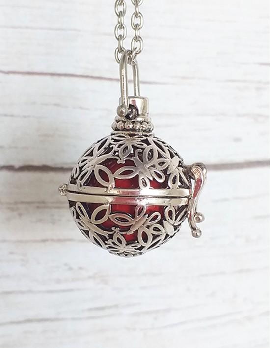 Chamador de Anjos - esfera vermelha (ref.: CA092)