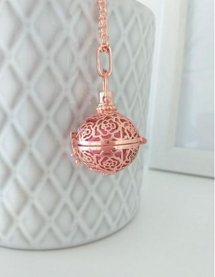 Chamador de Anjos - esfera rosa (ref.: CA113)