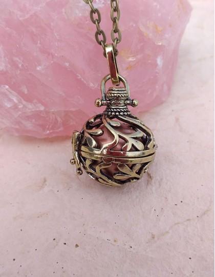 Chamador de Anjos - esfera castanha (ref.: CA145)