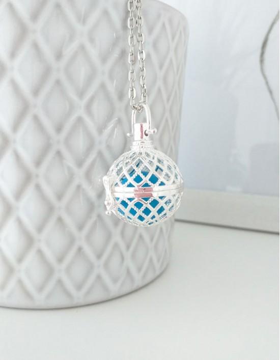 Chamador de Anjos - esfera azul (ref.: CA196)