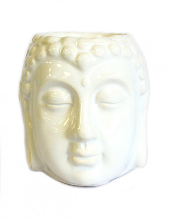 Queimador de Óleo - Buda (branco)