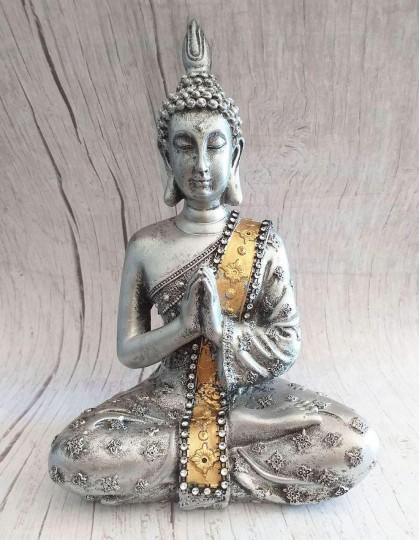 Estatueta do Buda Gautama (Pranam Mudra) - 20cm