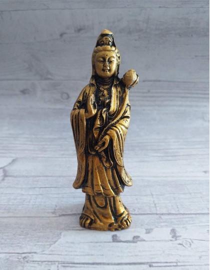 Estatueta de Kuan Yin - 9cm