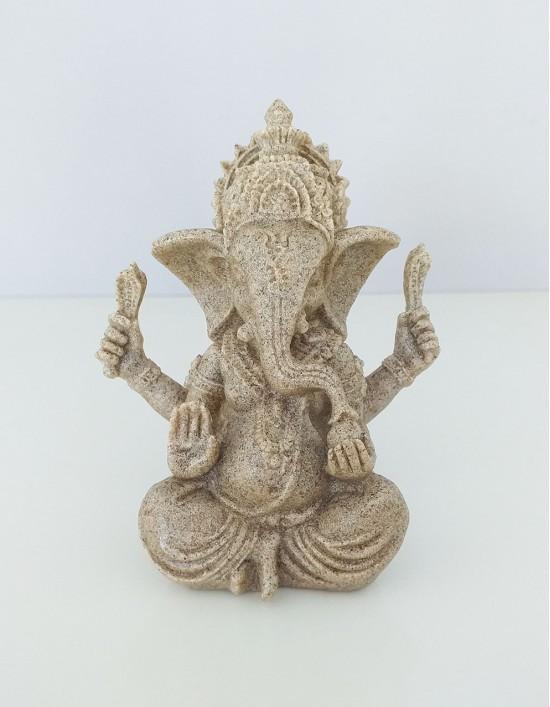Estatueta de Ganesha em Poliresina - 9cm