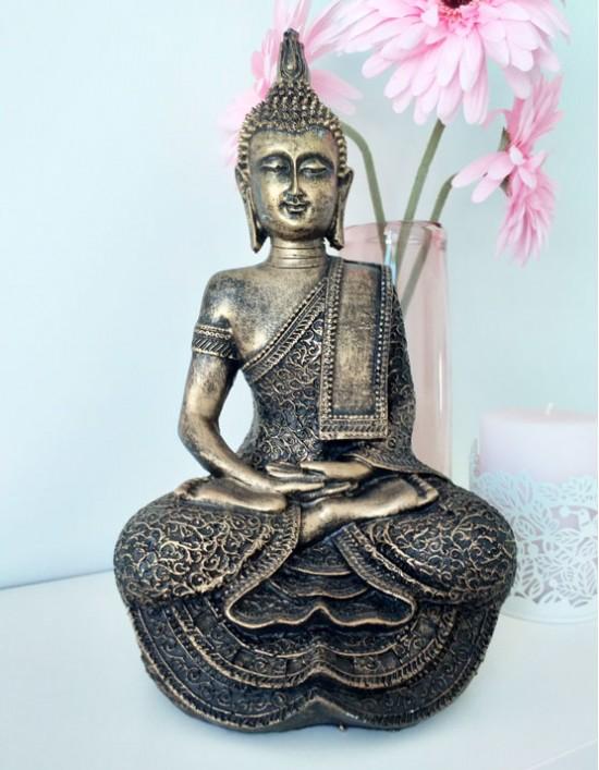 Estatueta Buda Gautama a Meditar - 30cm