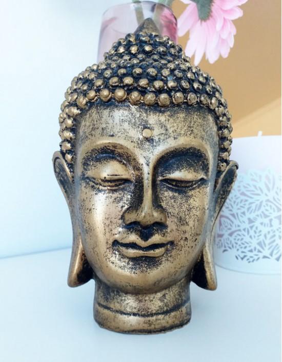 Estatueta Buda Gautama (Cabeça) - 16cm