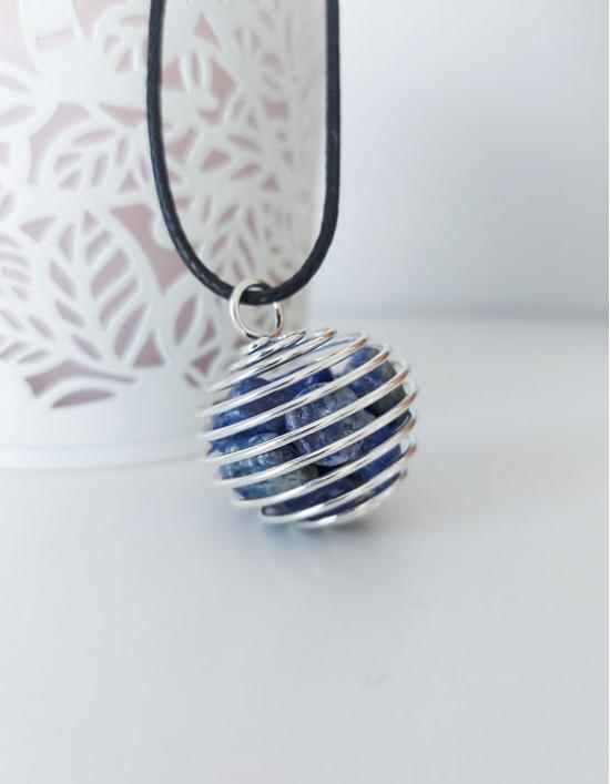 Gaiola com Lápis-Lazuli