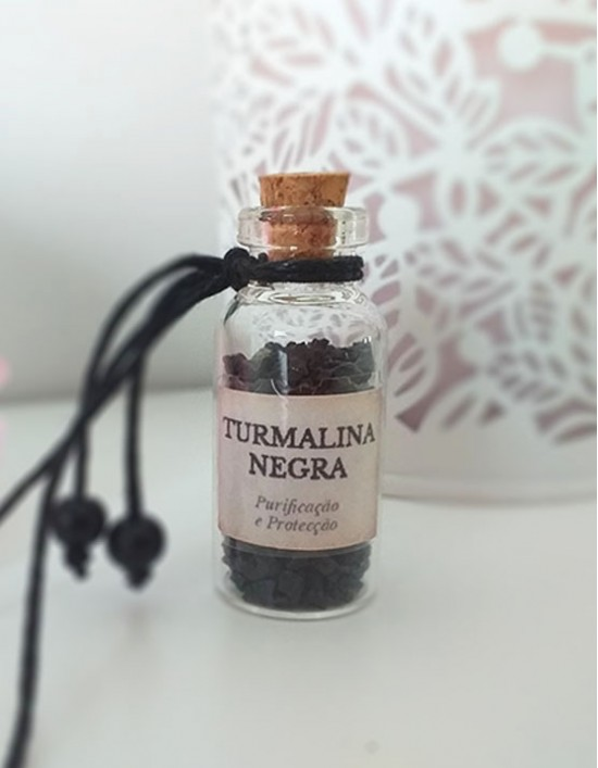 Garrafinha Mágica - Turmalina Negra