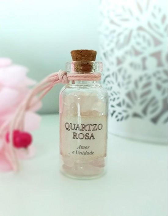 Garrafinha Mágica - Quartzo Rosa