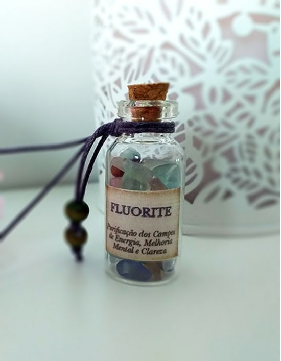 Garrafinha Mágica - Fluorite