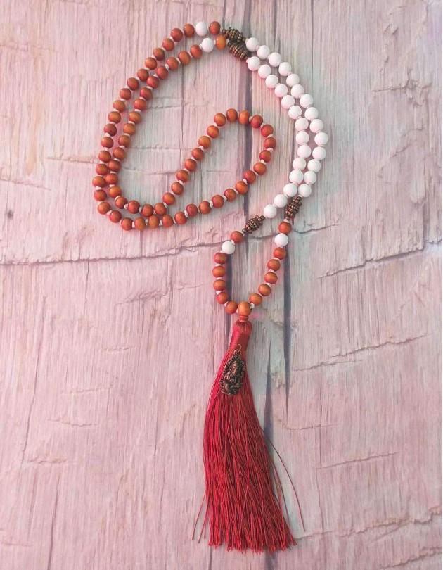 Japamala de Sândalo com Ganesha (ref.: 108196)