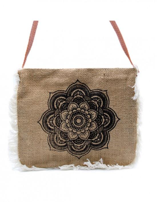 Bolsa em Juta (Mandala)