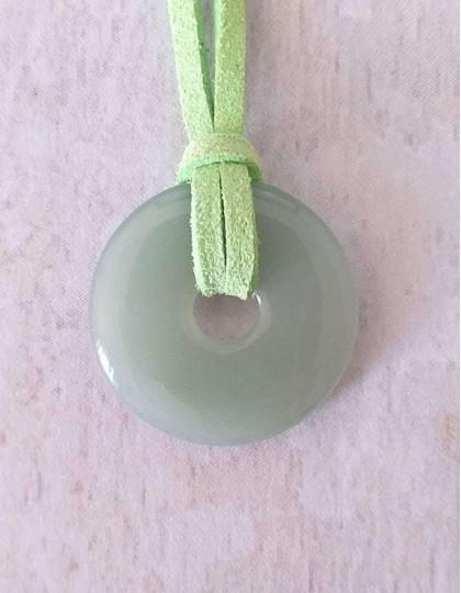 Colar com Pedra Pi - Aventurina Verde