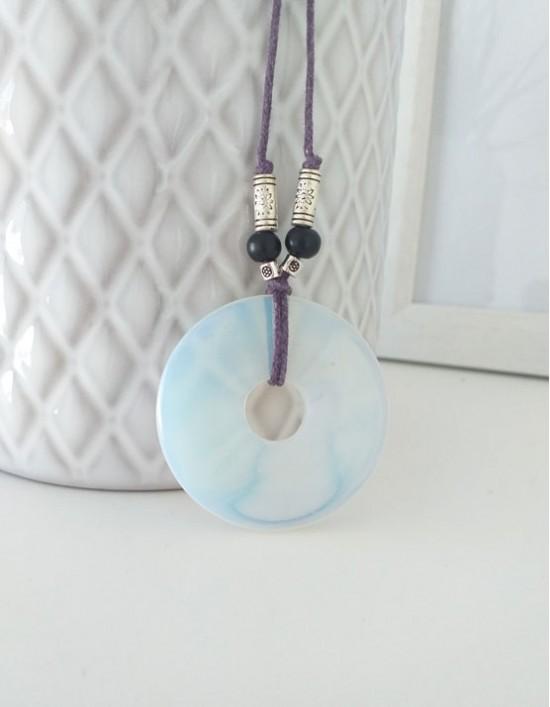 Colar com Pedra Pi (4cm) - Opala