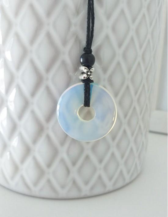 Colar com Pedra Pi (2.5cm) - Opala