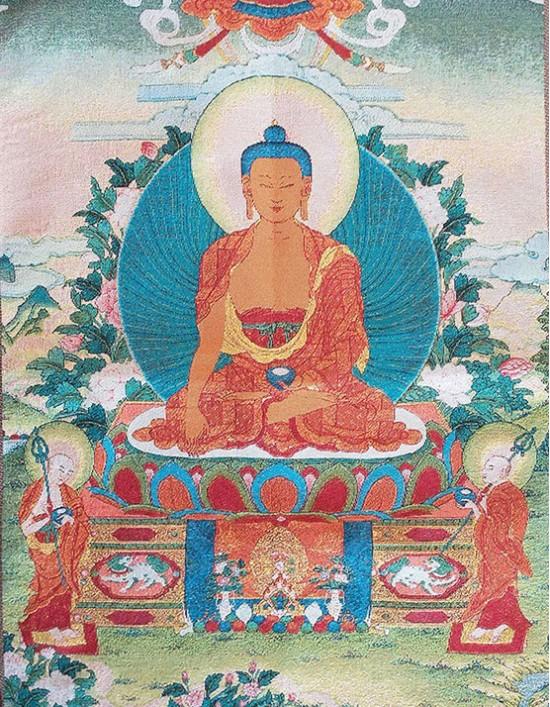 Thangka Buda da Medicina
